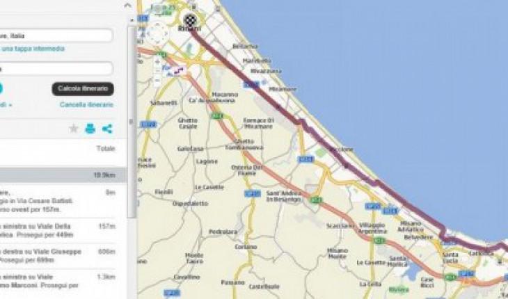 Itinearario Personalizzato su Nokia Ovi Mappe