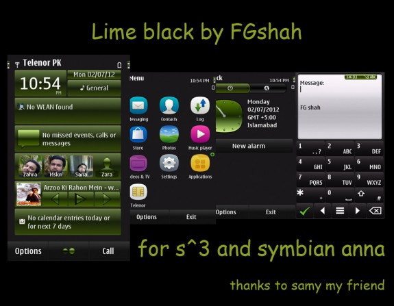 Lime black by FG Shah