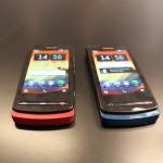 Nokia 700 Red & Blu