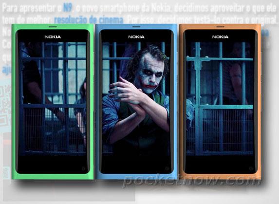 Il Nokia N9 si mostra in nuovi colori