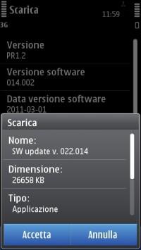 Symbian Anna update