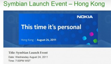 Symbian Launch Event
