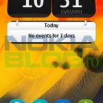 Homescreen Symbian Belle
