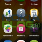 Menu Symbian Belle