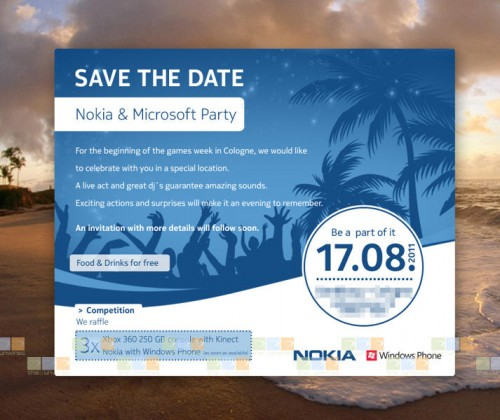 Save the date - 17.08.2011