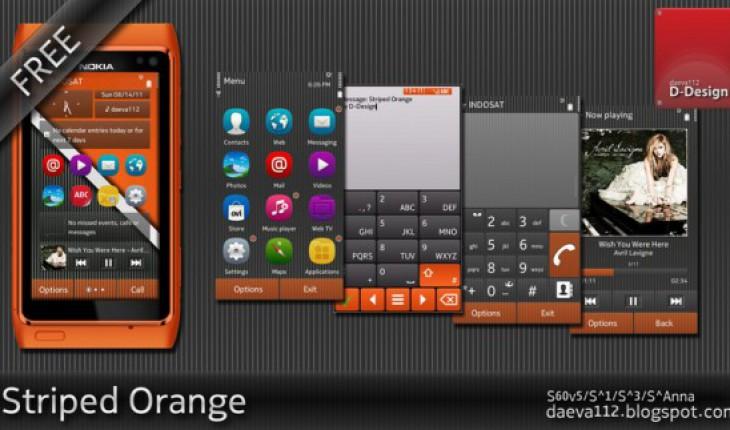 Striped Orange by daeva112