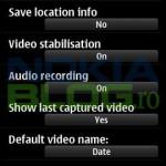 Impostazioni Video