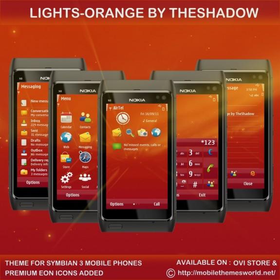 Lights Orange by TheShadow