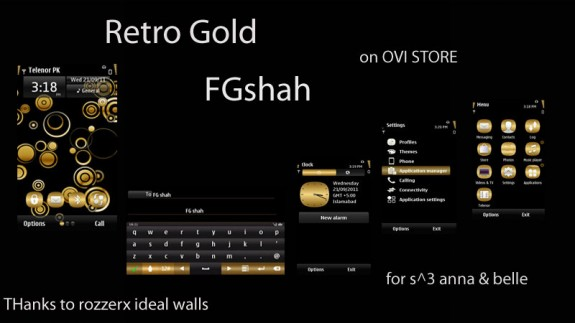 Retro gold by FG Shah