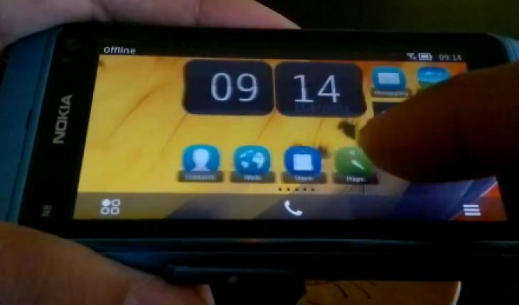 Symbian Belle su Nokia N8