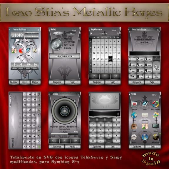 Metallic Bones by LaoStia