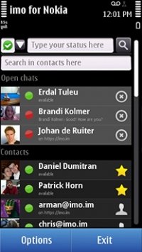 Imo messenger download symbian