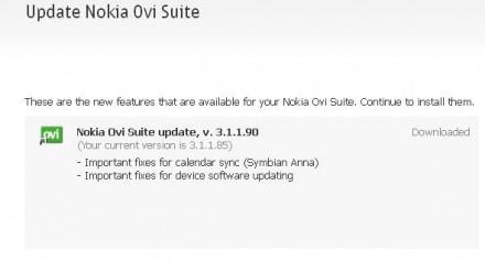 ovi-suite v3.1.1.90