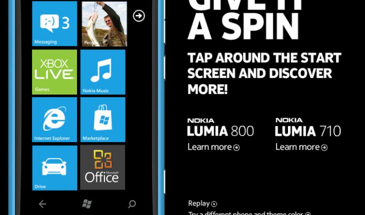 Demo Nokia Lumia 800