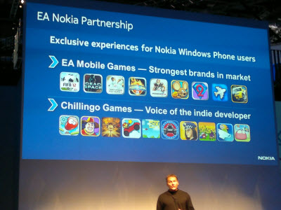 Accordo tra Nokia ed Electronics Arts