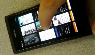 Multitasking Nokia N9