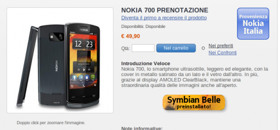 Nokia 700 NStore.it
