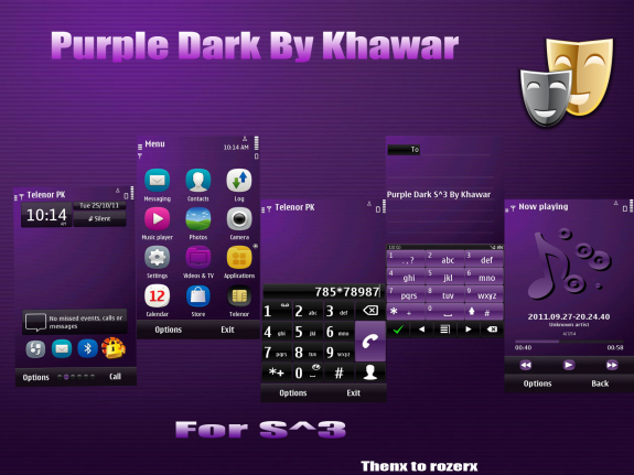 Purple Dark by Khawar