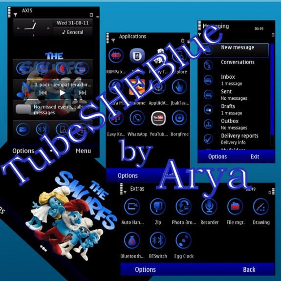 TubeSHEBlue By Arya