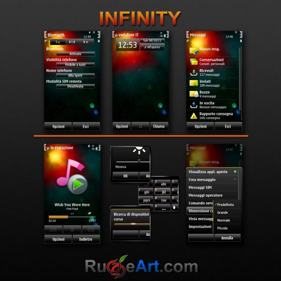 Infinity by Rugge