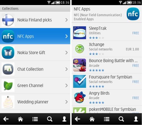 Nokia Store NFC