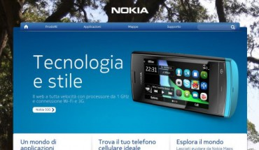 Nuova grafica nokia.it