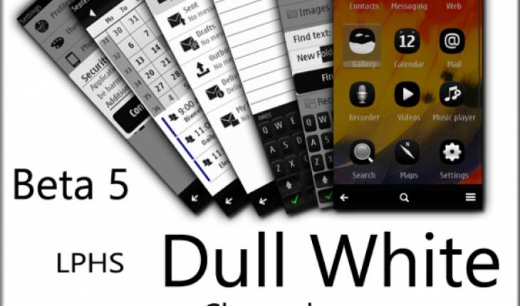 Dull White Belle by LPHS