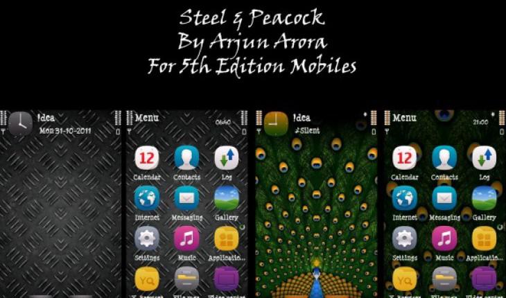 Steel e Peacock by Arjun Arora