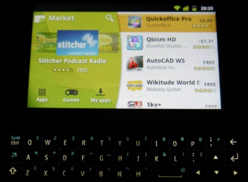 Nokia N900 con NITDroid