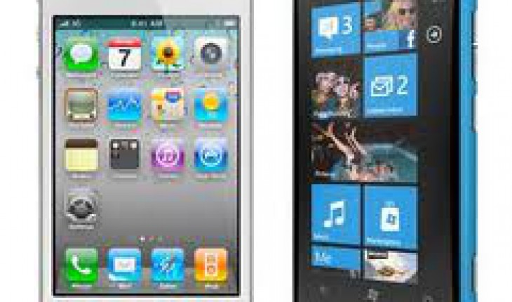 Nokia Lumia 800 - iPhone 4s