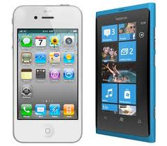 Nokia Lumia 800 - iPhone 4s