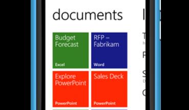 Office su Lumia 800