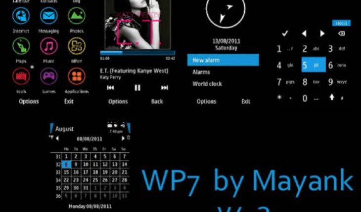 Windows Phone 7 Metro by Mayank
