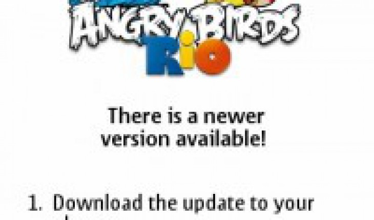 Angry Birds Rio Update