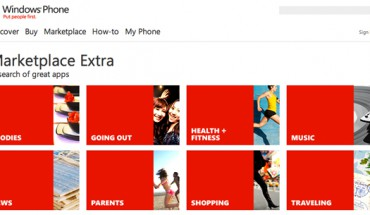 Windows Phone, Marketplace Extra