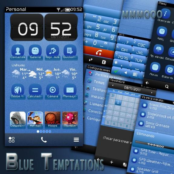 Blue Temptations by MMMOOO
