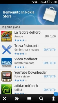 Nokia Store client