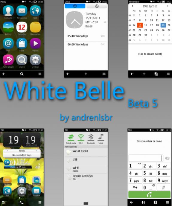 White Belle by Andrenlsbr