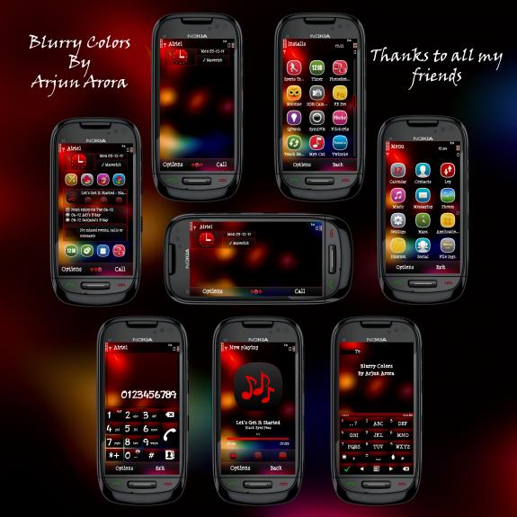 Blurry Colors by Arjun Arora