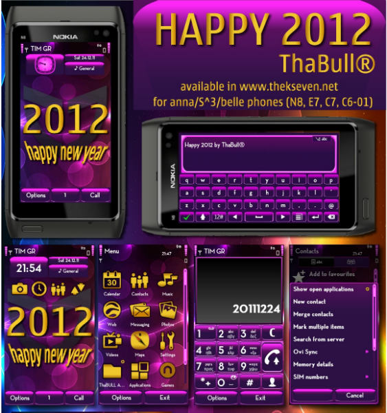 Happy 2012 by ThaBull