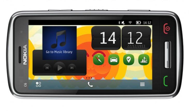 Nokia C6-01 con Nokia Belle