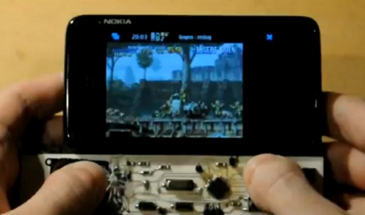 Nokia N900 gamepad