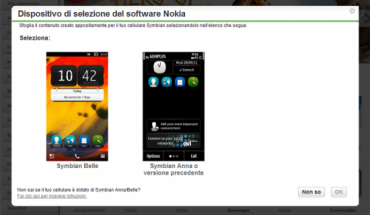 Nokia Software Selector