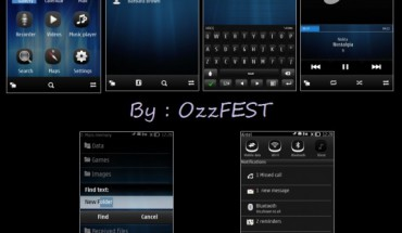 New Symbian Belle by OzzFEST