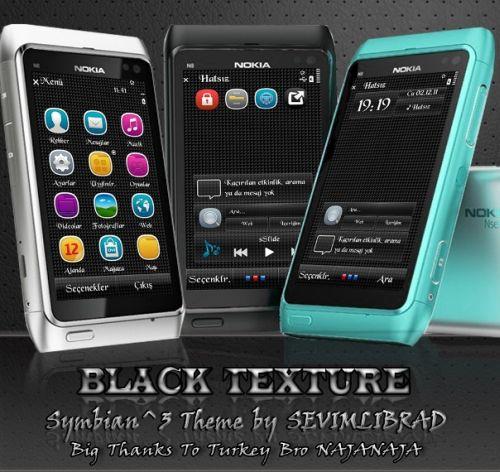 Black Texture by Sevimlibrad