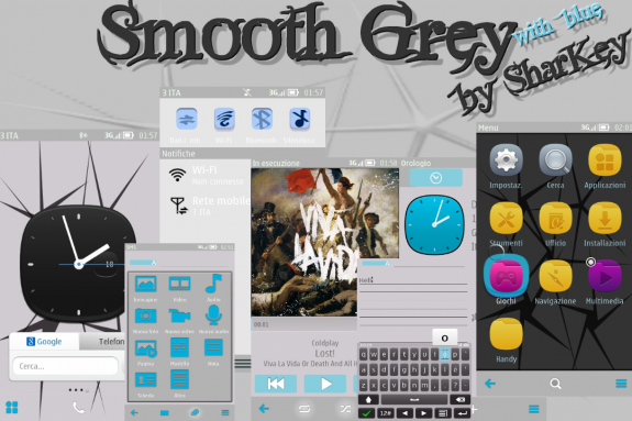 Smooth Grey by Sharkey