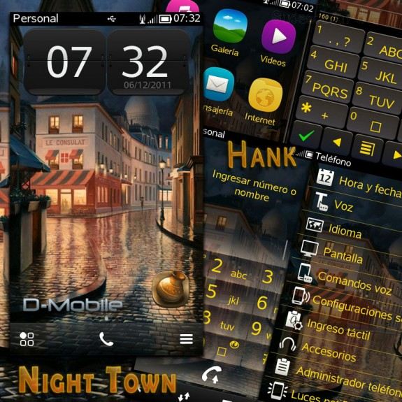 Night town by Hank