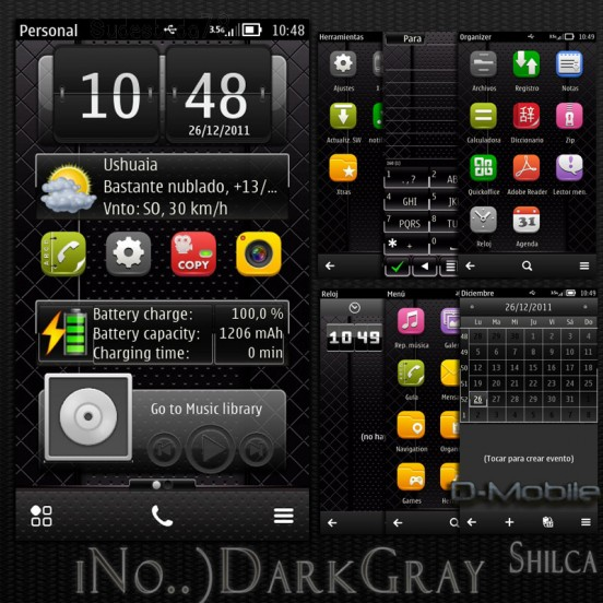 Dark Gray by Shilca