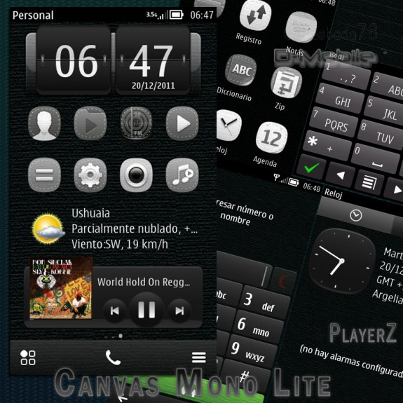 Canvas Mono Lite by PlayerZ