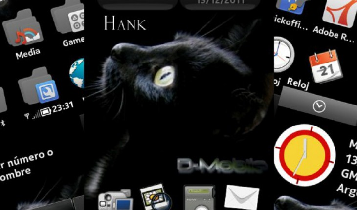 Black Cat by Hank